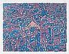 KOOL KOOR (né en 1963) ALFA, 1987 Marqueur, acrylique sur papier