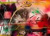 FUTURA 2000 (né en 1955) 10 COLOR RECEPIE EXCLUSILLY FOR ROY CHAU........, 1988 Peinture aérosol sur toile
