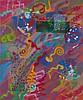 Victor ASH (né en 1968) SANS TITRE, 1992 Peinture aérosol sur toile
