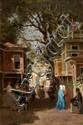 Fabius BREST (Marseille, 1823 - Marseille, 1900) Rue animée, Turquie
