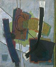 Henri GOETZ (1909 - 1989) SANS TITRE - 1954 Pastel sur papier