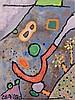 Gaston CHAISSAC (1910 - 1964) COMPOSITION - Circa 1952 Huile sur panneau, Gaston Chaissac, €10,000