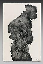 Etienne HAJDU (1907 - 1996) SANS TITRE - 1979 Encre de Chine sur papier