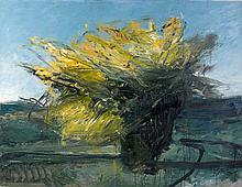 Jean-Marc ROCHETTE (Né en 1956) LE MURIER DE LUSSAN - 2010 Huile sur toile