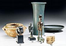 ÉGYPTE, TROISIÈME PÉRIODE INTERMÉDIAIRE - BASSE ÉPOQUE, 1069 - 332 AVANT J.- C. Grande statue d'Amon marchant