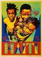 Shepard FAIREY (OBEY GIANT) (né en 1970) HAÏTI, 2010 Sérigraphie en couleurs