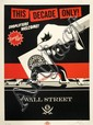 Shepard FAIREY (OBEY GIANT) (né en 1970) SHOPLIFTERS WELCOME, 2012 Sérigraphie en couleurs
