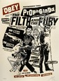 Shepard FAIREY (OBEY GIANT) (né en 1970) FILTH AND FURY, 2006 Sérigraphie en couleurs