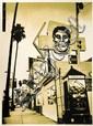 Shepard FAIREY (OBEY GIANT) (né en 1970) FRIEND SKULL, 2005 Sérigraphie en couleurs