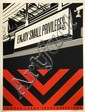 Shepard FAIREY (OBEY GIANT) (né en 1970) ENJOY SMALL PRIVILEGES, 2011 Sérigraphie en couleurs