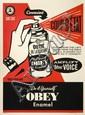 Shepard FAIREY (OBEY GIANT) (né en 1970) COUP D'ETAT, 2012 Sérigraphie en couleurs