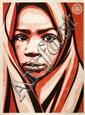 Shepard FAIREY (OBEY GIANT) (né en 1970) BLANKET, 2009 Sérigraphie en couleurs