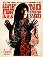 Shepard FAIREY (OBEY GIANT) (né en 1970) WAR FOR SALE (CREAM EDITION), 2007 Sérigraphie en couleurs