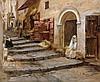 Frederick Arthur BRIDGMAN 1847 - 1928 CASBAH D'ALGER, 1886 Huile sur toile, Frederic Arthur Bridgman, €8,000