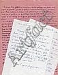 André PIEYRE de MANDIARGUES  Manuscrit et lettres