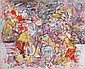 Alexandre ISTRATI (1915-1991) COMPOSITION, 1975 Huile sur toile