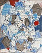 Natalia DUMITRESCO (1915-1997) COMPOSITION, 1954 Huile sur toile