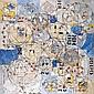 Natalia DUMITRESCO (1915-1997) MANDALA, VI 1973 Huile sur toile