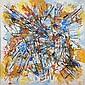 Alexandre ISTRATI (1915-1991) LA MORSURE DES COULEURS, 1980 Huile sur toile