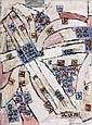 Natalia DUMITRESCO (1915-1997) SANS TITRE, 1972-1973 Huile sur toile