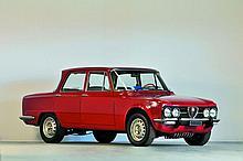 1975 Alfa Romeo Giulia Nuova Super berline  No reserve