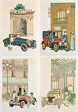 Denis Paul NOYER (1940)  Automobiles et Grands Restaurants