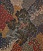 ¤Napangardi EUNICE (WARLPIRI) (Circa 1940 - 2005) LE REVE DE LA BANANE DU BUSH / BUSH BANANA DREAMING, 1991 Acrylique sur toile (cott..,  Eunice Napangardi, Click for value