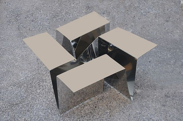 Ilan Garibi for Talents Design  Origami Floor Piece , 2012