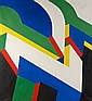 Peter STAMPFLI (né en 1937) ARVOR, 1985 Huile sur toile