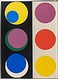 Geneviève CLAISSE (née en 1935) R33, 1967 Gouache sur papier