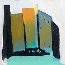 Julienne Pauline Isidorine WALTER dite ZOUM 1902 - 1974 PORTES DE L'ENFER - 1963 Pastel sur papier