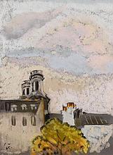 Julienne Pauline Isidorine WALTER dite ZOUM 1902 - 1974 SAINT-SULPICE DE CHEZ NOUS - 1965 Pastel sur papier
