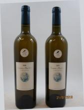 6 bouteilles TURSAN 2000 Baron de Baschen (blanc) Caisse bois d'origine (cave 18)