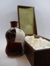 1 bouteille COGNAC HERITAGE RENE RIVIERE Hors d'âge (eaux-de-vie cinquantenaire) vendu avec un certificat d'autenticité