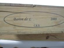 12 bouteilles POUILLY FUME 2005 Baron de L