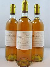 12 bouteilles CHÂTEAU CLIMENS 1983 1er Cru Barsac Caisse bois d'origine