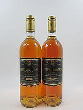 6 bouteilles CHÂTEAU GUIRAUD 1997 1er Cru Sauternes (étiquettes légèrement abimées)
