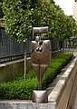 Philippe HIQUILY (1925 - 2013) LE LARDON, 2000 Sculpture en fer martelé