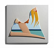 Tom WESSELMANN 1931 - 2004 SEASCAPE - 1984 Porcelaine