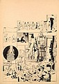 CALVO Edmond-François (1892-1958) D'ARTAGNAN Encre de Chine pour une planche publiée dans la revue Junior au début des années 40