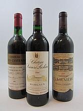 12 bouteilles 1 bt : CHÂTEAU BOYD CANTENAC 1983 2è GC Margaux (légèrement bas, étiquette sale)