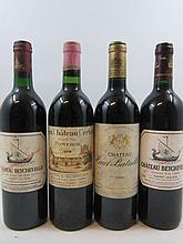 8 bouteilles 1 bt : VIEUX CHÂTEAU CERTAN 1979 Pomerol (base goulot, étiquette abimée)