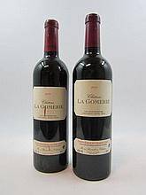 5 bouteilles 3 bts : CHÂTEAU LA GOMERIE 2000 GC Saint Emilion (traces sur étiquettes)