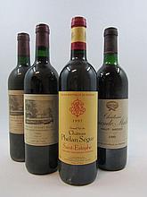 12 bouteilles 4 bts : CHÂTEAU PHELAN SEGUR 1997 Saint Estèphe