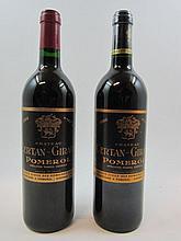 11 bouteilles 5 bts : CHÂTEAU CERTAN GIRAUD 1994 Pomerol