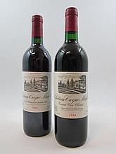12 bouteilles 7 bts : CHÂTEAU CROQUE MICHOTTE 1993 GCC Saint Emilion