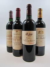 4 bouteilles 1 bt : CHÂTEAU HAUT BATAILLEY 2000 5è GC Pauillac