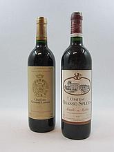 6 bouteilles 3 bts : CHÂTEAU GRUAUD LAROSE 1994 2è GC Saint Julien (étiquettes fanées)