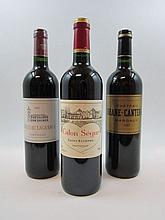 6 bouteilles 4 bts : CHÂTEAU LAGRANGE 2008 3è GC Saint Julien