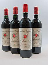 10 bouteilles 6 bts : CHÂTEAU POUJEAUX 2000 Moulis